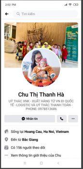 CẢNH BÁO:  FB CHU THỊ THANH HÀ BỊ CHIẾM QUYỀN SỬ DỤNG!